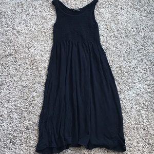 Black Dress/Swim Cover Up- Small